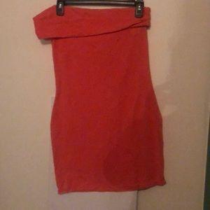 Peach Victoria's Secret Dress